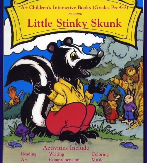 BookLittleStinkySkunk